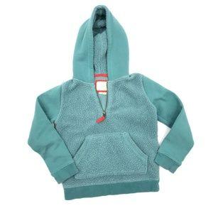 Mini Boden Fleece Jacket Girls 7-8 Years Hooded